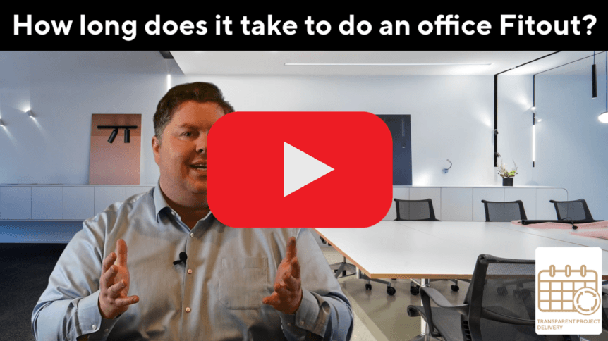 How long does an office fitout take?